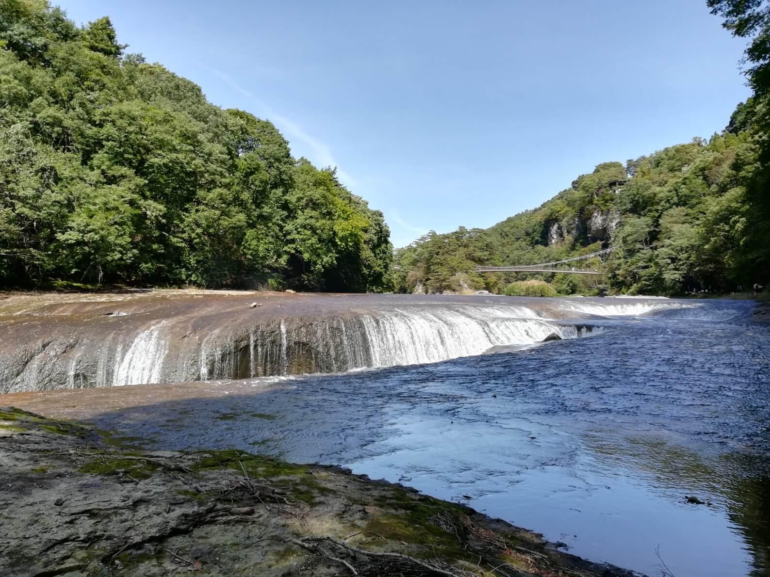 吹割の滝 アクセス