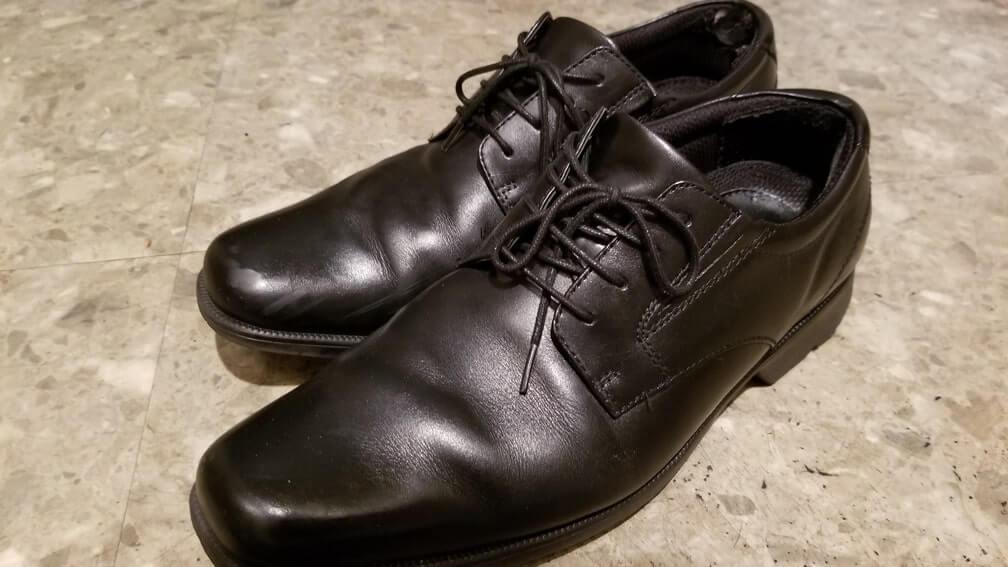 6月 断捨離 革靴