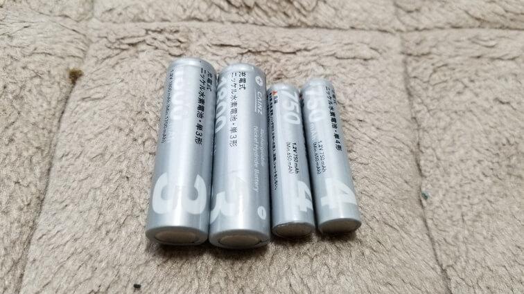 充電池 断捨離